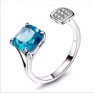 ❤️ Adjustable Zirconia Ring 100382